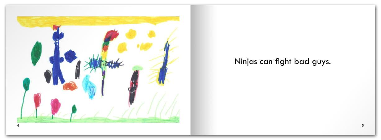 Ninjas Can Fight Bad Guys