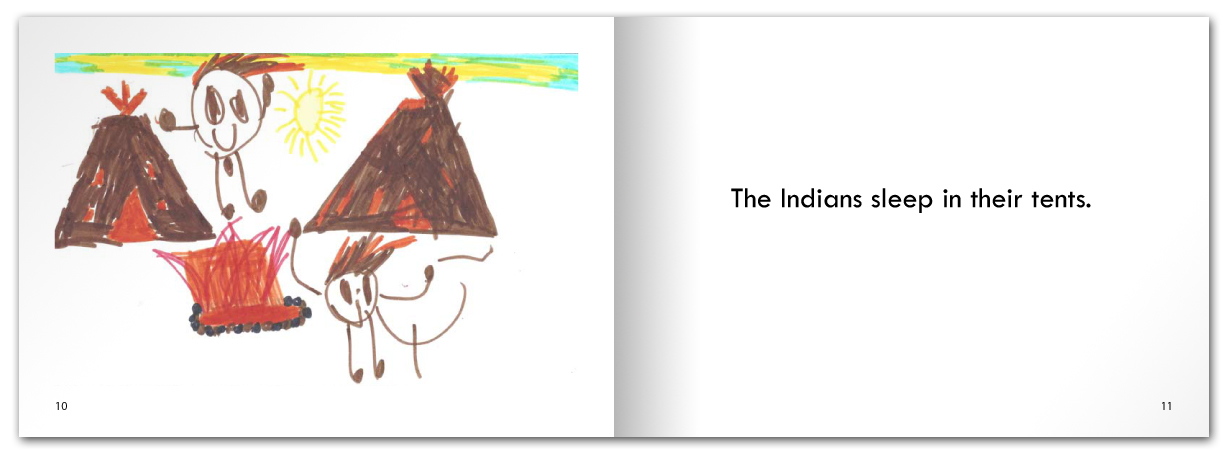 There are Indians and Cowboys